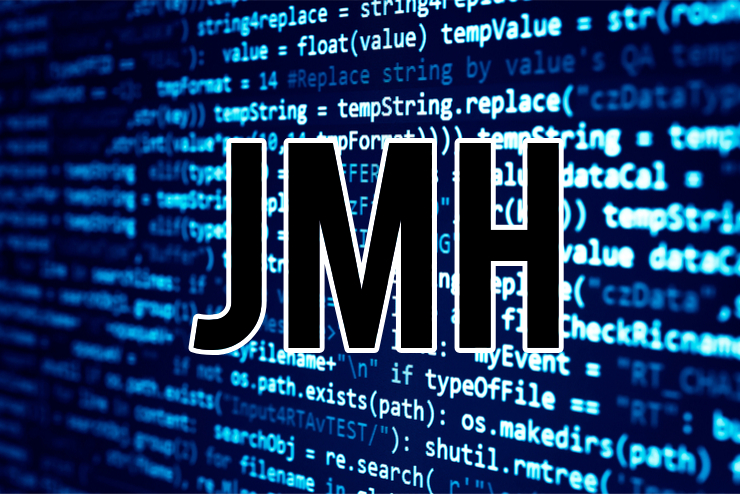 JMH on code background
