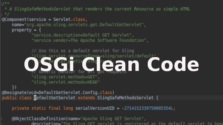 SlingGetServlet code screenshot